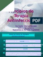 Principios a Terapia Antiinfecciosa