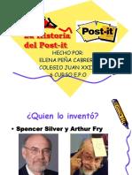 Elena Peña Cabrera Post-it