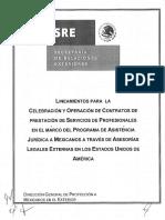 Contrato de Prestacion de Servicios Secretaria de Relaciones