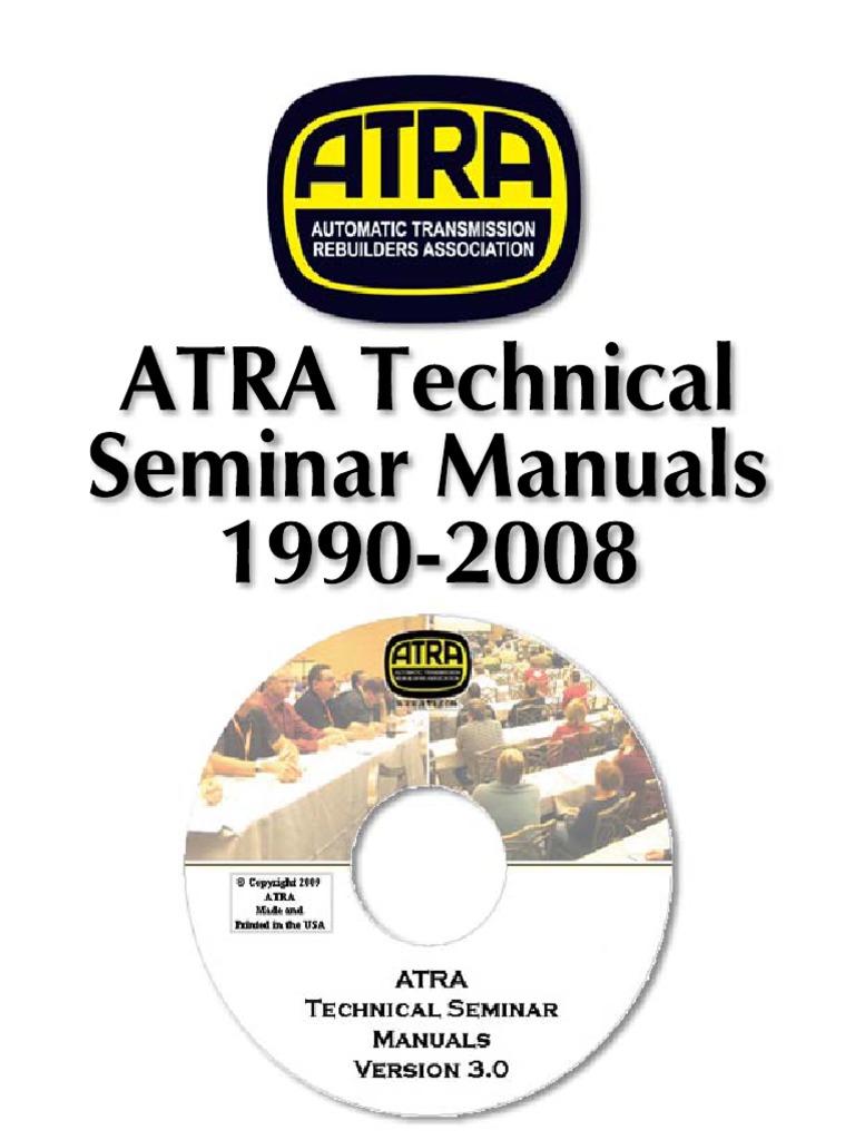 atra seminar 1990 2011 pdf clutch transmission mechanics rh scribd com Manual Transmission Diagram Manual Transmission Clutch