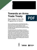 Towards an Arms Trade Treaty