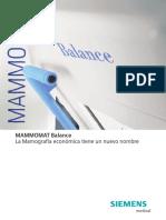 Brochure Mammo Balance