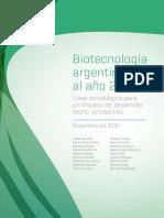Biotecnologia Argentina Al Ano 2030