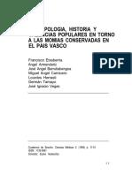 Antropología Historia Momias