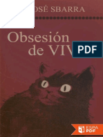 Obsesion de Vivir Jose Sbarra