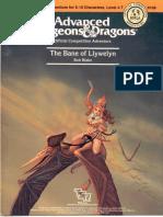 AD&D1 - (C5) The Bane of Llywelyn (TSR9105).pdf