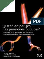 ¿Están en peligro las pensiones públicas? de AA.VV.