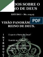 01 - Visão Panorâmica Do Reino de Deus