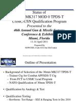 30x173_TPDS-T_MK317 Mod0_NAVSEA_2011