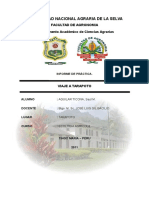 Informe de Viaje Ecologia 2