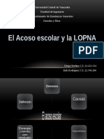 Presentacion Acoso Escolar y Lopna