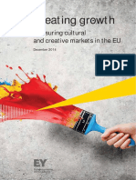 2014 EY Creating Growth EU Creative Industries
