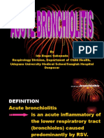 13. Bronchiolitis in Children