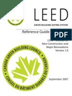 LEED_CA_NCv1.0 - Ref Guide - Addendum - Sep 2007