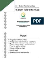 ST 01 Dasar Sistem Telekomunikasi