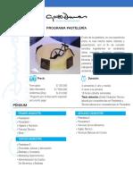 Programa Pasteleria