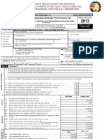 2013 ADSO Tax Return