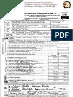 2011 ADSO as DGPA Tax Return