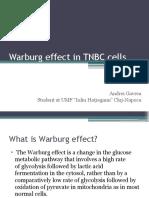Warburg effect in tnbc cells.pptx