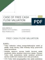 Kasus Free Cash Flow Valuation