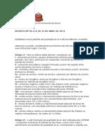 Decreto Nº 59113-13