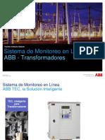 Abb- Transformadores - Sistema de Monitoreo en Linea