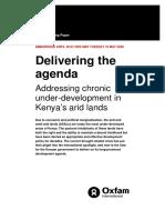 Delivering the Agenda