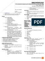 [Anes] 1.2 PreAnesthetic Evaluation and Pre Medication (Baria) - JTIII