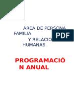programacion anual PFRH 2 año