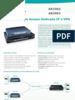 Aligera Roteadores VPN AR1002-AR2002 v3 - Datasheet