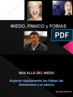 Clase Miedo Panico y Fobia Psicoterapia III 2011-2012 A