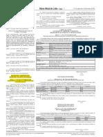 Edital de Complementar Nº 01 Ao Edital 01-2016 - Retira Vaga Da Área de Zootecnia CUR - D.O.U