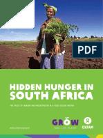 Hidden Hunger in South Africa