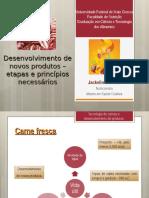 Desenvolvimento de Novos Produtos – Etapas e Princípios