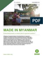 Made in Myanmar