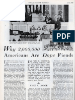 Why 2,000,000 Americans Are Dope Fiends [1930-06]