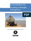 Technical Guidelines on Water Trucking in Drought Emergencies