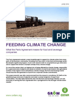 Feeding Climate Change