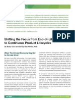 Shifting the Focus From End-Of-Life Recycling to Continuous Product Lifecycles