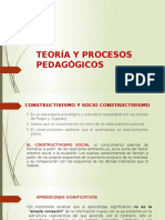 Teoría y Procesos Pedagógicos
