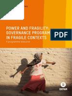 Power and Fragility
