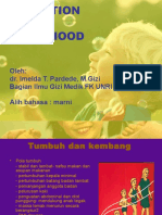 Nutrition in Childhood Artinya