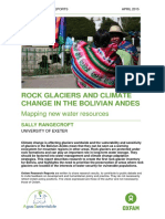 Rock Glaciers and Climate Change in the Bolivian Andes