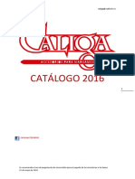 Caliga Catalogo 2016
