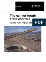 The Call for Tough Arms Controls