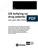 US Bullying on Drug Patents