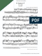 Mozart - Piano sonata F major