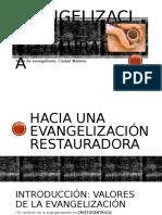 Evangelización restauradora correccion