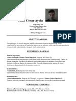 Cv Julio Ayala 3