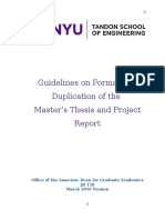 Master's Thesis and Project Report Guidelines_Mar2016 Version